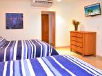 spacious suites with AC, ceiling fans, cable TV, wifi, etc..