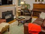 living room /gas fireplace