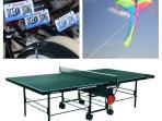 Bikes, kites and ping pong in 2 car garage