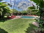 Lovely Pool - one of the two pools on the Aina Nalu property.