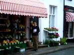 Broughton-in-Furness is your little local town, with great food shops selling local produce.