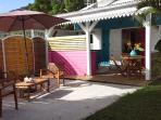 CaZméti'C - bungalow Lagon terrasse coin jardin piscine15 m