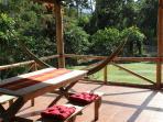 Überdachte Terrasse Ferienhaus Casa Tucán