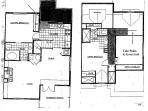 Deer Creek Cabin Floorplan 1400 sqft