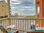This 2-bedroom, 2-bathroom vacation rental condo sleeps 6 guests.