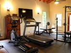 Use of private gym located on property