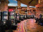 Mountain Casinos-22 mins away-Great Crab leg buffet