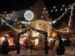 autre vue du marché de noël d'Eguisheim