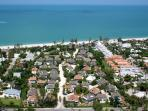 Sunset Captiva Aerial View