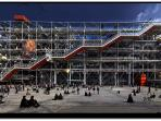 The iconic Centre Georges Pompidou is 100 meters away.
