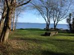 Lake shore at Cornode