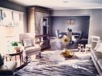 Retro Modern formal Living and Dining Room