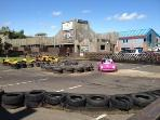 Go karts available on site