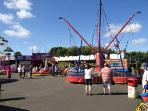 Funfair available on site