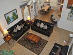 Paradise Palms Living Room (birds-eye view)