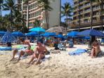 Relax on Waikiki Beach