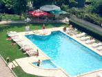 Big and safe swimming pool only for our guests. Professional guard during the summer season.