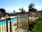Pool adjacent to Patio