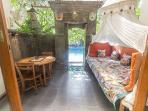 Veranda of Cambodia room