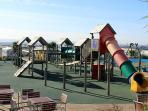 TRECCO BAY CHILDRENS PARK , JETS & FOUNTAINS, CRAZY GOLF , SPORTS AREA, INDOOR POOL , A WALK AWAY
