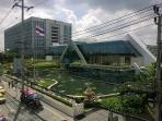 10 minutes away to Consular Department, Ministry of Foreign Affairs on Chaengwattana Road.