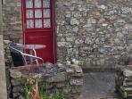 Patio and back door