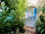 Balcony- Holiday Beach Apartment in Kiveri village close to Nafplion