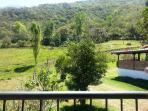 Vista desde el balcon cabaña para 6 pax