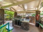 One of Makahuena's BBQ Areas