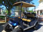 Ask about Golf Cart! Great way to get to beach, Marina Bar, & shops/restaurants/Publix at Grand Blvd