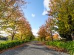Montfort Manor driveway entrance