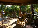 Veranda - What a great place to Relax - rustle of all the palm fronds
