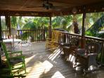 Tree top veranda