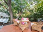zona relax giardino comune