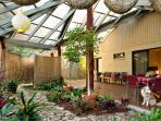 Atrium - outdoor deck