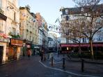 The famous rue Mouffetard, next corner!