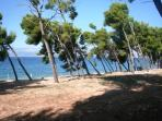 'Tri Mosta' -centre beach