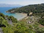 Lovrecina sand beach , 6 Km from Simla House