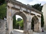 Roman Twin gates.