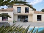 Belle villa contemporaine la Cadière d'Azur 178 M2 entre mer et vignobles