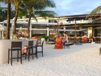 Discovery Shores, 7 minute walk from the villa.