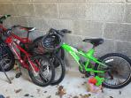 3 kids bikes for use