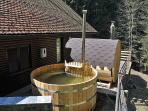 Hot tub - summer sunshine