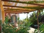 Shade pergola for keeping the outdoor space comfy and cool