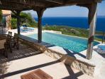 pergola, terrace & swimming pool