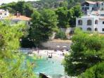 Molo Lozna beach