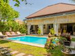 Villa Vero Bali 1-2-3 bedrooms in a quiet street with private pool