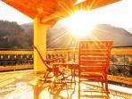 The Sunrise from balcony