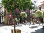 Old Town Marbella a ten minute walk away