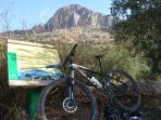 Rutas en bici, a pie o a caballo, zona privilegiada para la práctica de deportes de naturaleza